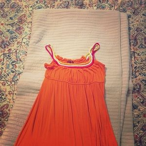 Dresses & Skirts - Orange summer dress